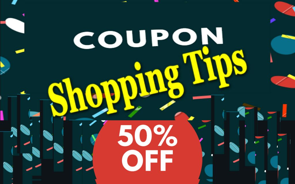 Coupons Shopping tips