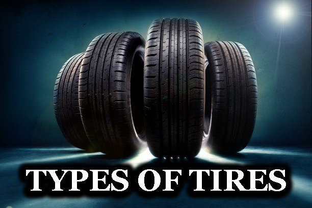 close up of four Righ tire